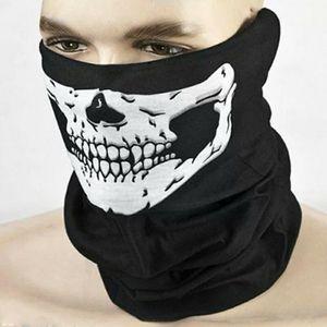 3 Skull face mask, bandana, wrist band, head band,
